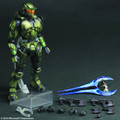 HALO 2 PLAY ARTS KAI MASTER CHIEF ANNIVERSARY EDITION ACTION FIGURE