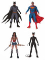 "DC DESIGNER JAE LEE 6"" FIGURES- SET OF 4 ACTION FIGURE - SERIES 1"
