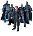 BATMAN ARKHAM ACTION FIGURES - 5 FIGURE PACK