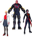 BATMAN ARKHAM ORIGINS ACTION FIGURE 3 PACK; ELECTROCUTIONER, DR H. QUINZEL,LADY SHIVA