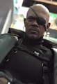 NICK FURY - THE WINTER SOLDIER - HOT TOYS 1/6 SCALE FIGURE - MOVIE MASTERPIECE SERIES