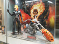 GHOST RIDER & JOHNNY BLAZE AND HELLCYCLE 2 FIGURE SET HOT TOYS 1/6 SCALE