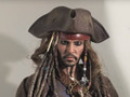 JACK SPARROW HOT TOYS SIXTH SCALE FIGURE -PIRATES OF THE CARIBBEAN DEAD MEN TELL NO TALES  - MMS