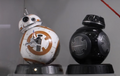 STAR WARS BB-8 AND BB-9E HOT TOYS FIGURE -THE LAST JEDI - MMS