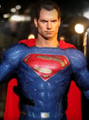 SUPERMAN HOT TOYS JUSTICE LEAGUE 1/6 SCALE FIGURE -MOVIE MASTERPIECE SERIES COLLECTIBLE MMS