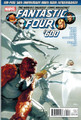 FANTASTIC FOUR #600 $8 COVER- 100-PAGE 50TH ANN ISSUE RETURN JOHNNY STORM