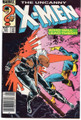 UNCANNY X-MEN #201 (1ST CABLE AS BABY NATHAN) 1ST WHITE PORTACIO X-MEN WORK - 1986 NM