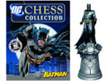 BATMAN FIGURINE- DC SUPERHERO CHESS FIGURE #1 COLLECTOR MAGAZINE -  (BATMAN)