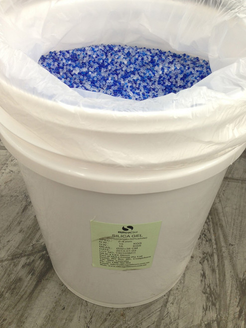 Silica Gel 50% White 50% Blue 15kg