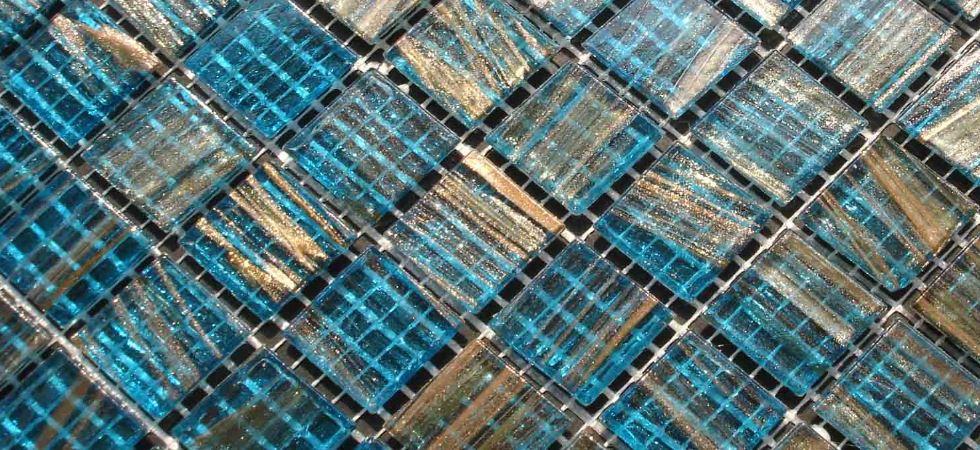 glass swimming pool tiles