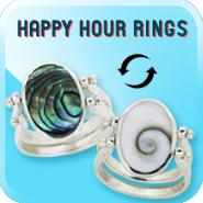 Happy Hour Rings - Two Rings in One!