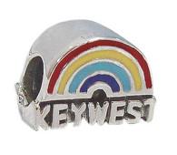 Rainbow Key West Bead