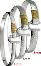Caribbean Hammered Hook Bracelet - Combo