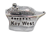 Sterling Silver Key West Cruise Ship Bead