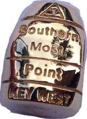 14kt Gold Southernmost Point Bead