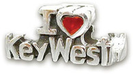 I Love Key West Bead
