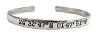 Key West Lat/Long Bracelet