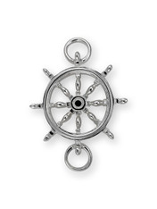 SS SHIP WHEELS  CLASP