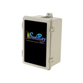 SunRay Solar Controller DC- SOLFLO Pump Motor Showing Data - GPM - Head - Volts - numbers with ie =-PCC-240BLS-M2