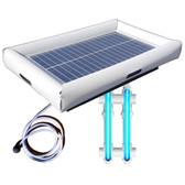 Savior UV O3 Ultraviolet Ozone Pool Spa Sanitation Disinfection Systems 30-watt Solar Powered 3000 Gallon