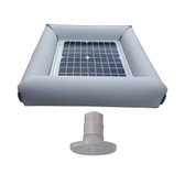 Savior Light SMD LED RGB 500 Lumens 10-watt Solar Powered Pool Spa Pond Light