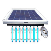 Savior UV O3 Ultraviolet Ozone Pool Sanitation Disinfection Systems 250-watt Solar Powered 75,000 Gallon