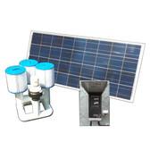 Bottom Feeder 70w Solar Pool Pump Filter Cartridge System DD