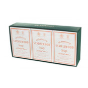 D.R. Harris - Sandalwood Bath Soap Box of 3
