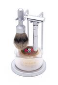 Merkur - 4 pc FUTUR Shave Set, Brushed Finish #750