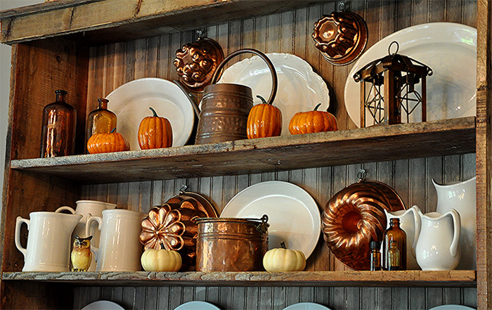 using copper decor to enhance the aesthetics of your home