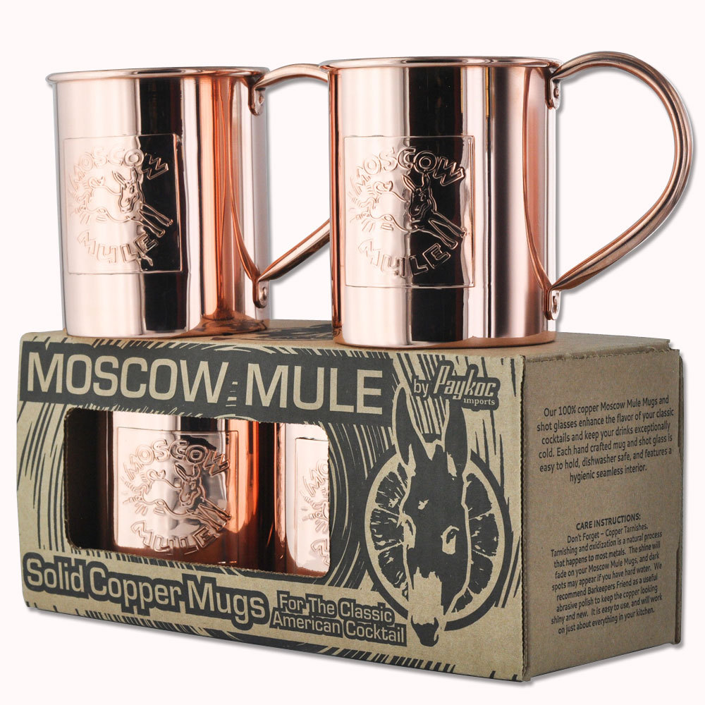 more cleaning solutions that you can use on your moscow mule mugs