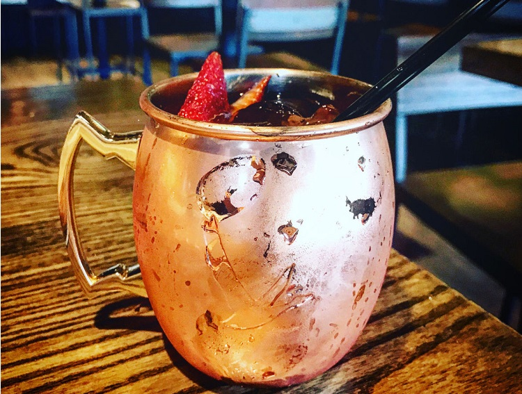 The Strawberry Mule - Recipe and Ingredients List
