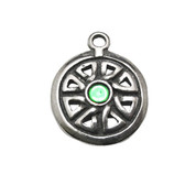 Celtic Mysteries Necklace Brigid's Shield CM12