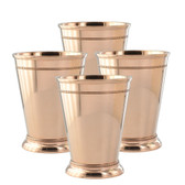 20oz Nickel-Plated Mint Julep Cups, Set of Four MJ20020