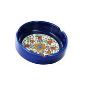 Nimet Classical Turkish Porcelain Ashtray 10cm by Paykoc N13010 Orange