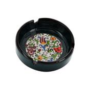 Nimet Classical Turkish Porcelain Ashtray 10cm by Paykoc N13010 Purple