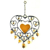 Iron HEARTH Wind Chime