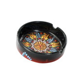 Nimet Deluxe Ashtray - Black 10cm - Front