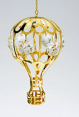 Gold Ornament Mini Hot Air Balloon 2