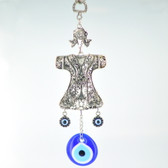 Metal Hanging Evil Eye - Whirling Dervish