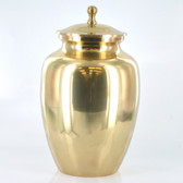 "8"" Urn W/ Antique Brass Finish"