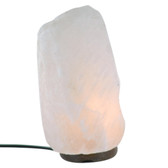 Himalayan Salt Lamp - Natural - Pure White - 2-4 KG