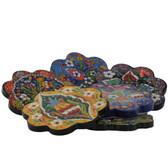 Nimet Classical Turkish Porcelain Coaster 10cm by Paykoc N50003