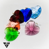 CR92105 Heart Colored Crystal