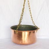 Hanging Copper Pot - Side