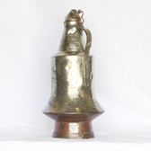 Nickel Plated Copper Water Pitcher - Front