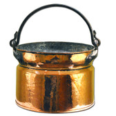 Copper Cauldron Front View