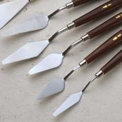 Economical Palette Knife Set of 5 - Metal