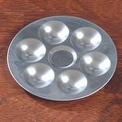 Aluminium Circular Palette - Small