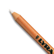Lyra - Rembrandt Chalk Pencil - White Chalk Soft (Oil Free)